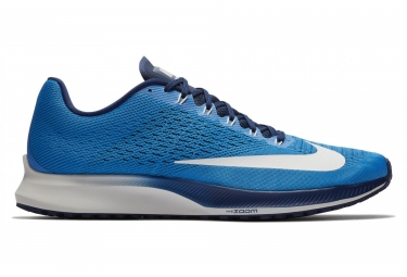 Nike air zoom elite 10 bleu blanc homme 46