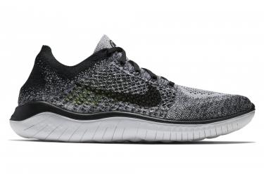 Nike free rn flyknit 2018 gris noir homme 44