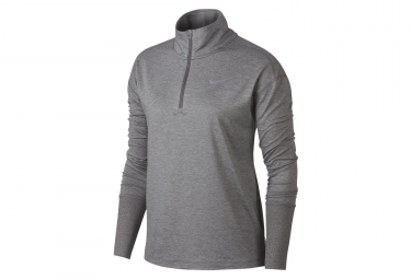 Nike Pull 1/4 zip Element Grey Women
