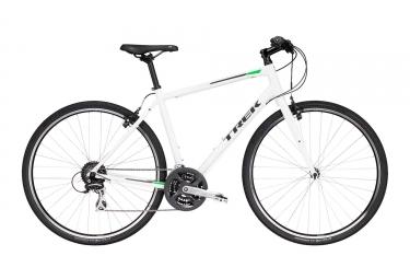Velo de ville trek 2018 fx 2 shimano acera 8v blanc vert 15 pouces 154 167 cm