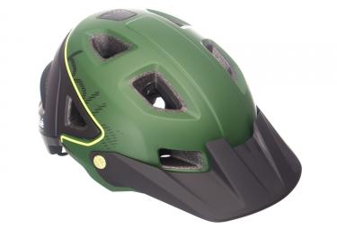 Casque vtt bolle trackdown noir vert s 51 54cm