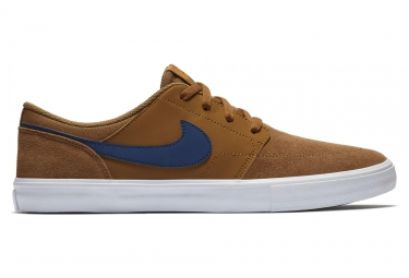Chaussures Nike SB Check Solarsoft Marron