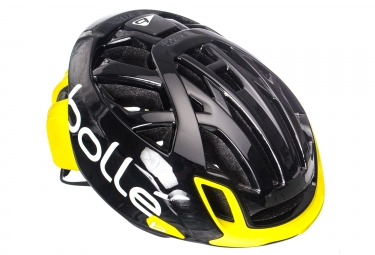 Casque bolle the one base noir jaune s 51 54cm