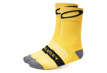 Oakley Tour de France 2018 Pair of Socks Yellow