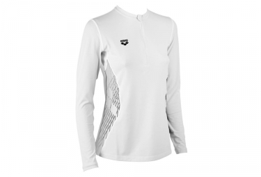 Maillot manches longues arena blanc l
