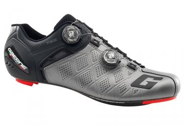 Paire de chaussures route gaerne g stilo spd sl gris anthracite noir 46