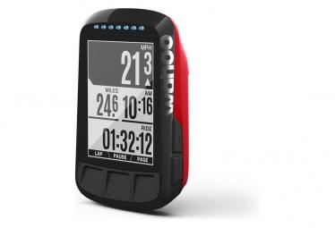 Compteur gps wahoo fitness elemnt bolt edition limitee rouge