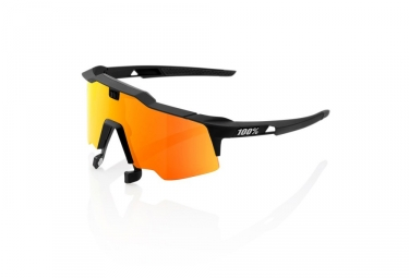 Lunette 100 speedcraft air soft tact black hiper miroir rouge