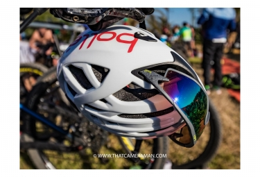 Casque Bollé The One Base Blanc Rouge