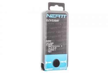 Kit de trinquete Neatt Wrench Hex 2 2.5 3 4 5 6 8 et T25, 30 ,40 PH2