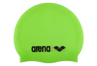 Bonnet de Bain ARENA Classic Silicone Vert