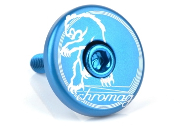 Chromag Top Cap Blue 1 1/8 ""