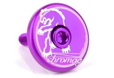 Chromag Top Cap Purple 1 1/8''