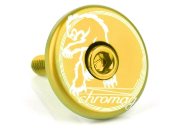 Chromag Top Cap Gold 1 1/8''