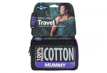 Sts drap de sac coton mummy tapered navy blue travel lin