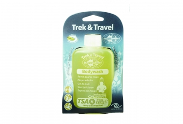 Sts savon liquide corps trek travel liquid body wash 89ml 3 0oz