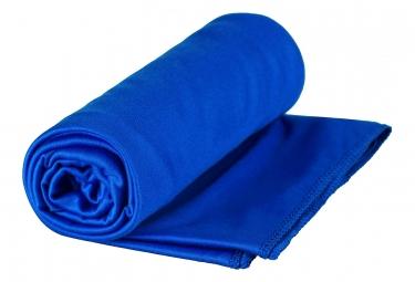 Serviette Microfibre Sea to Summit Pocket Towel Large Bleu