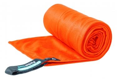 Sea to Summit Microfiber POCKET TOWEL Small - Orange