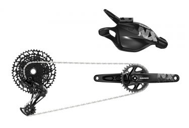 Groupe complet sram nx eagle 12v dub boost sans boitier manivelles 170 mm