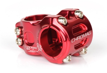 Potence vtt chromag hifi v2 31 8 mm 0 rouge 31