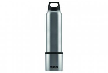 Sigg Hot & Cold Isotherm Bottle with Cup 1 L Silver