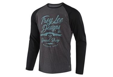 T shirt manches longues troy lee designs widow maker gris noir xl