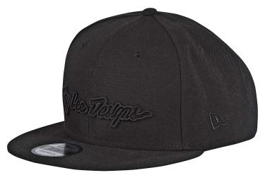 Troy Lee Designs Classic Signature Cap Black