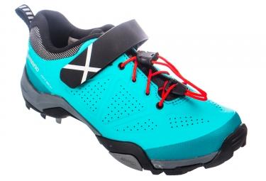 Paire de chaussures femmes vtt shimano mt500 d vert 36