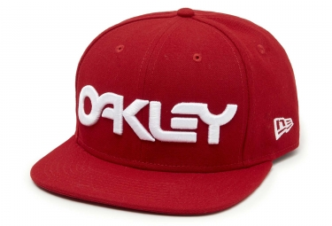 Casquette oakley mark ii novelty rouge