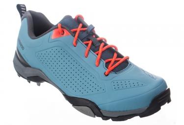 Chaussures vtt shimano mt300 bleu 43