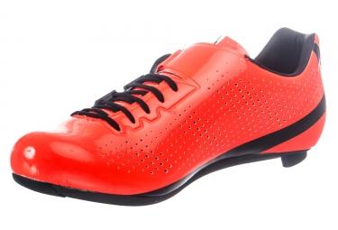 Paire de Chaussures Route GIRO FACTOR TECHLACE Orange Noir