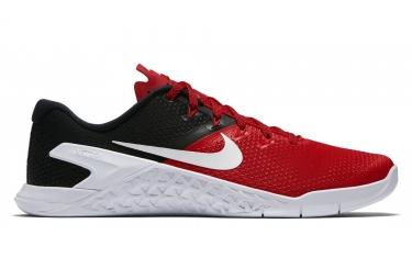 Nike metcon 4 rouge noir blanc homme 45