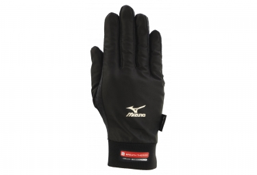 MIZUNO Run Wind Guard gloves Black Unisex