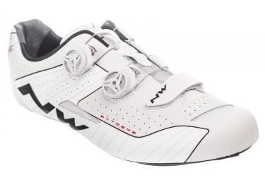 Paire de chaussures northwave 2017 extreme reflective blanc 47