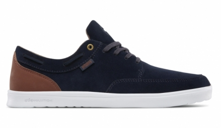 Chaussures etnies dory sc navy brown white 39
