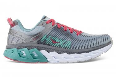 Chaussures de Running Femme Hoka One One Arahi 2 Gris / Vert