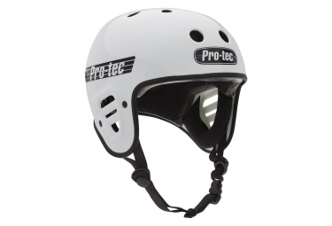 Casque pro tec full cut certified gloss white blanc s 54 56 cm