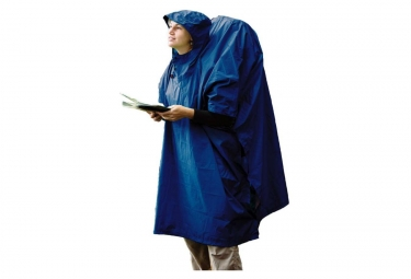 STS PONCHO THERMOCOLLE 70D 70D Tarp Poncho 00 Blue