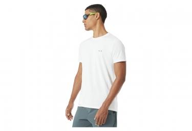 T shirt manches courtes oakley base ss gris l