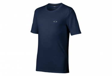 T shirt manches courtes oakley icon stripe ss top bleu m