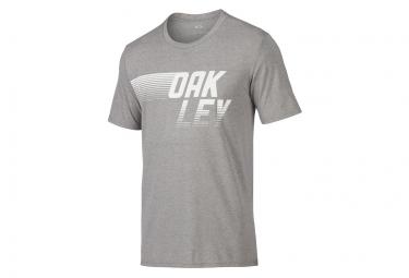 T shirt manches courtes oakley 50 50 dash gris l