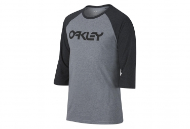 T shirt manches courtes oakley 50 mark ii raglan tee gris s