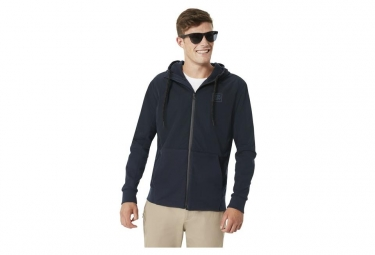 Fleece Full Zip Oakley FS Blu Scuro