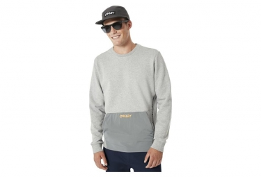 Sudadera Oakley FS Fleece Gris