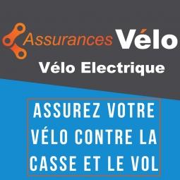 Assurance casse et vol pour velo a assistance electrique 1 an plafond de garantie 10