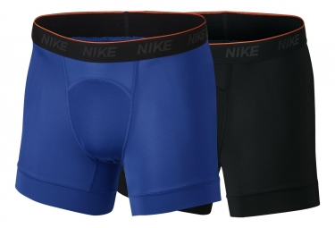 Nike Boxer par 2 Training Brief Noir Bleu Homme