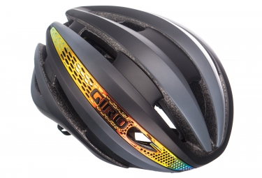 Casque giro synthe mips noir orange s 51 55 cm