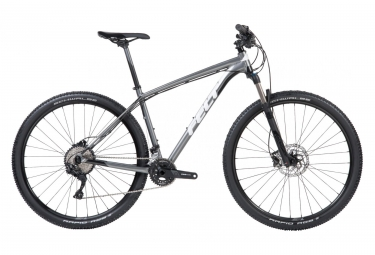Vtt semi rigide felt dispatch 9 50 shimano deore 10v charcoal blanc noir 2018 sm 167