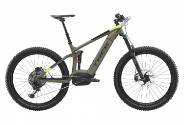 Hybrid Fullsuspension Trek PowerFly LT 9 Plus  Sram GX Eagle 12V 27.5'' Plus Vert / Noir 2019