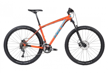 Vtt semi rigide felt dispatch 9 70 shimano acera 9v orange 2018 xl 185 195 cm